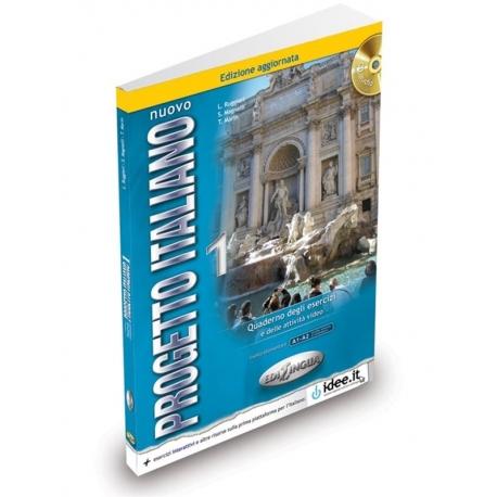 Nuovo Progetto italiano 1 - Quaderno degli Esercizi + attività video + CD audio