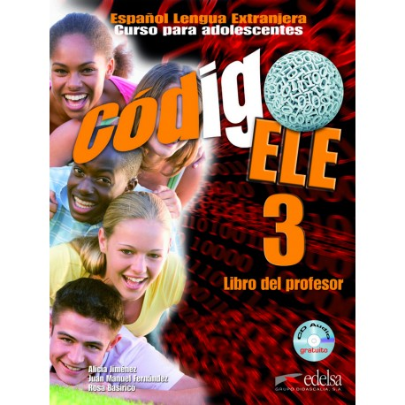Codigo ELE 3. Libro del profesor + CD audio