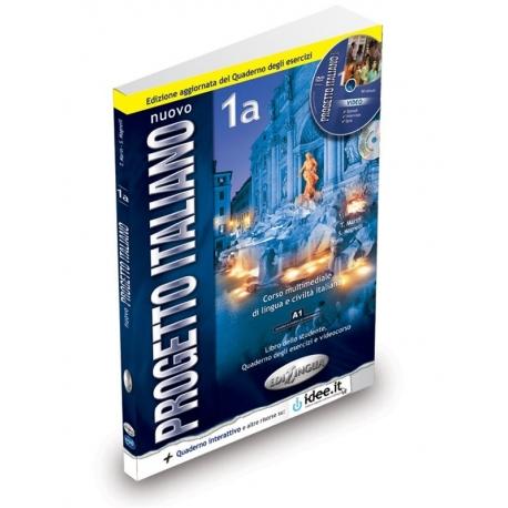 Nuovo Progetto italiano 1a Libro dello studente + Quaderno degli esercizi