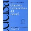 GRAMATICA COMUNICATIVA DEL ESPANOL II