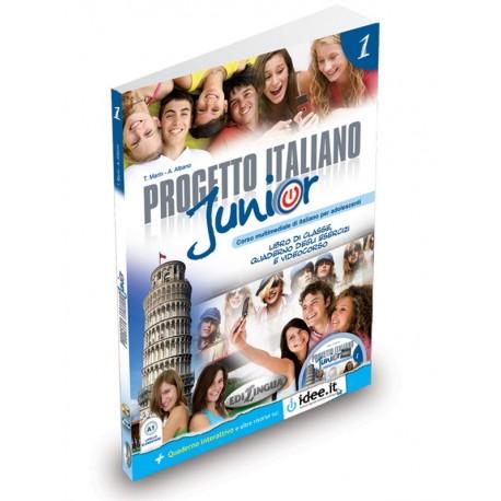 Progetto italiano Junior 1 (+DVD)